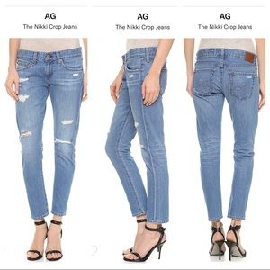 AG Adriano The Nikki Crop Jeans